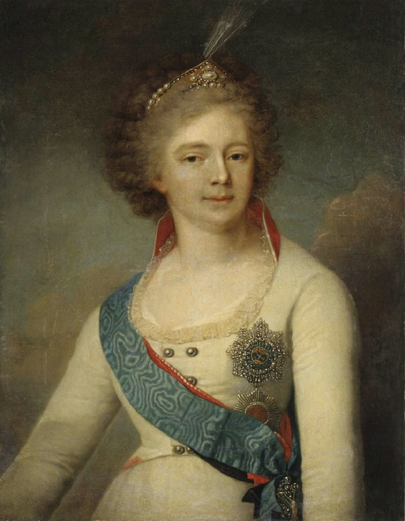 Портрет императрицы Марии Фёдоровны Тюменский областной музей изобразительных искусств