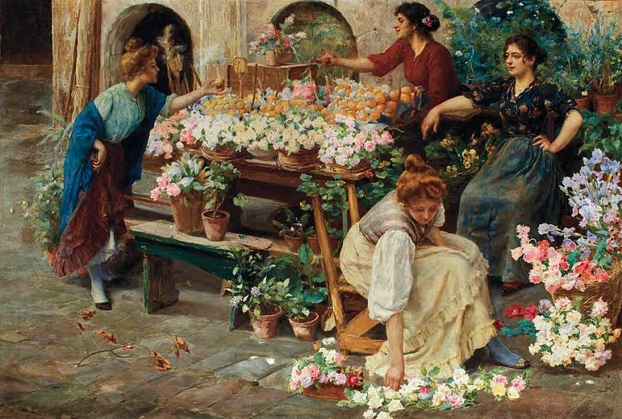 The Flower Market.