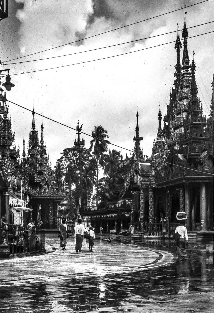 830. Рангун. Пагода Шведагон