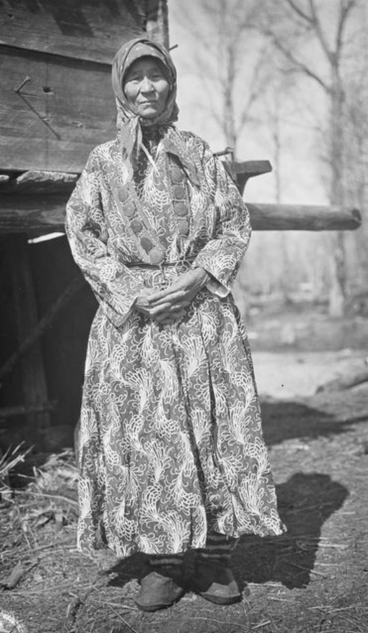Самоедка, мать Микишки Олджигина