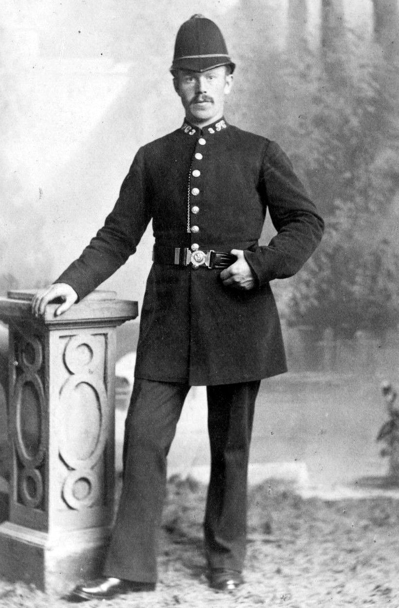 Old Photograph Policeman Broughty Ferry Scotland.JPG