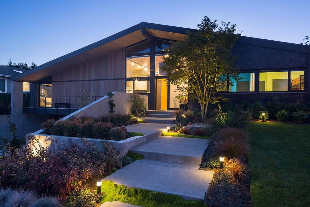 Современный дом в спальном районе города Вашингтон