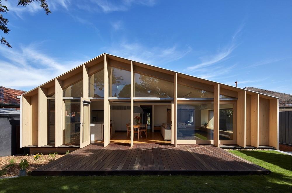 Обновление дома 1960-х годов постройки в Мельбурне
