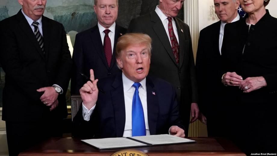 Трамп подписал закон о бюджетные ассигнования