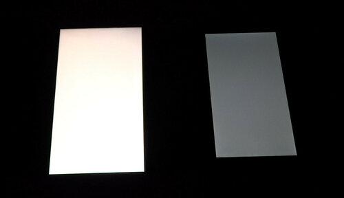 Дисплей, белый цвет
