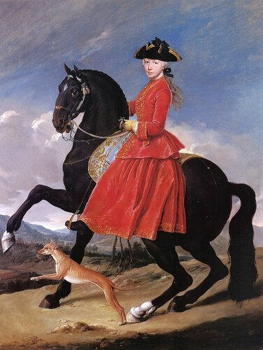 Подборка картин  «Всадницы в живописи»