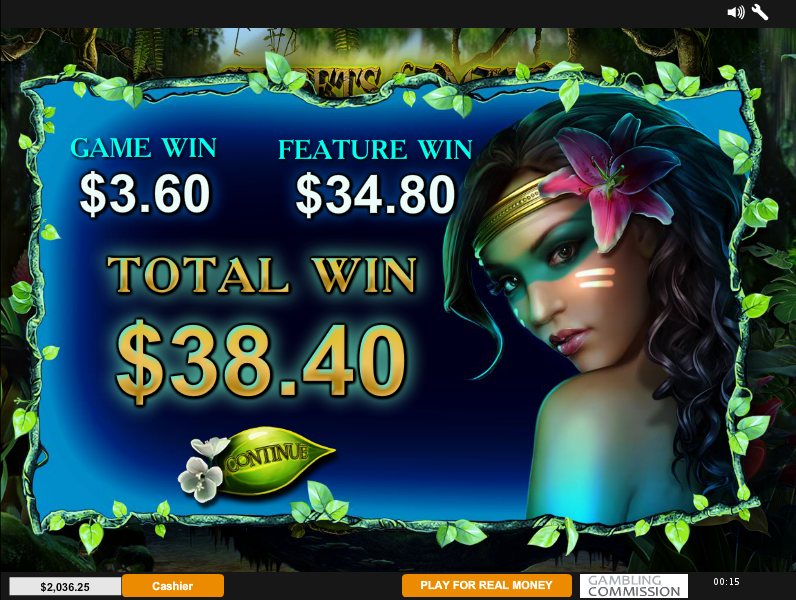 secrets of the amazon free spins result