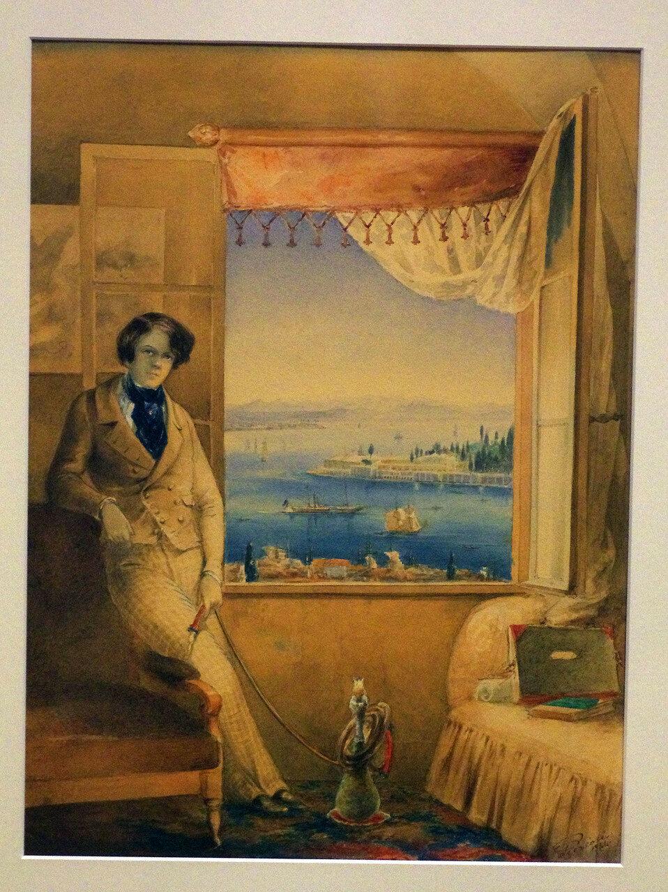 Амедео Прециози. Портрет князя П.П. Вяземского. 1844