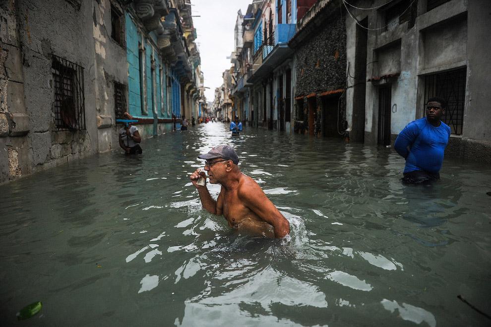 23. Гавана, 10 сентября 2017. (Фото Ramon Espinosa):