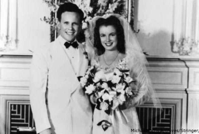 25 фото Нормы Джин Мортенсон. До того, как она стала Мэрилин Монро (26 фото)