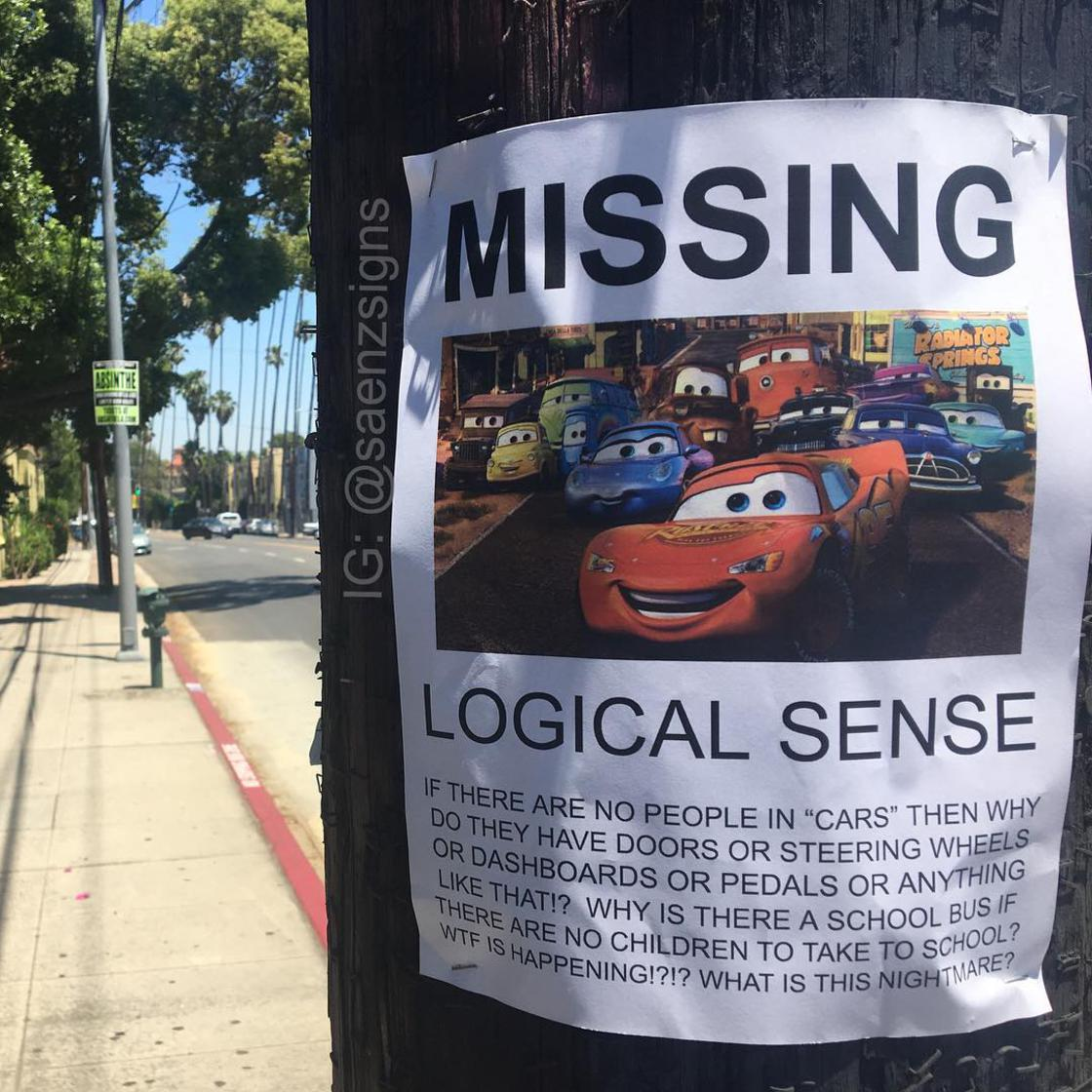 The hilarious fake posters of SaenzSigns