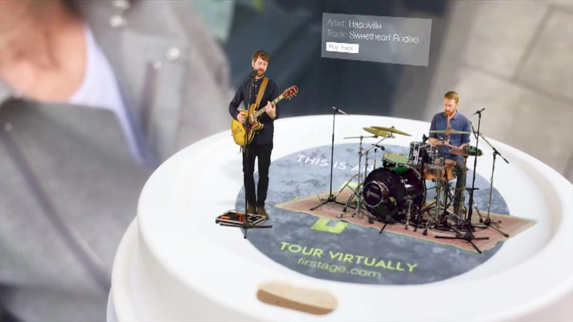 This new app invites musicians to your home thanks to augmented reality!
