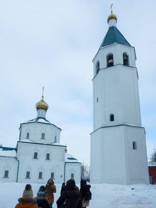 Церковь Воскресения Христова и колокольня, Клин