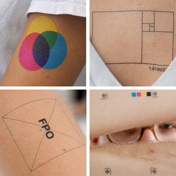 Quando o design vira tatuagem (7 pics)