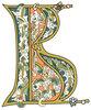 Буквица В (вѣди), 17 век