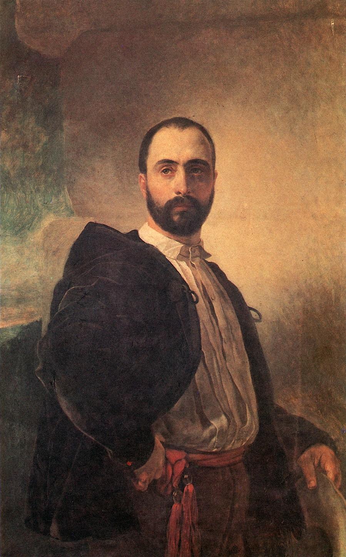 Портрет Анджело Титтони. 1850-1852 Частное собрание