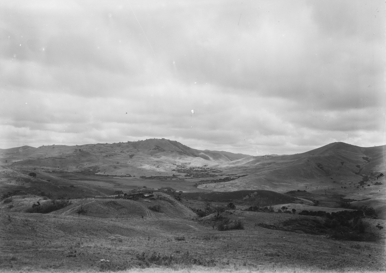 22. Пейзаж гор Улугуру