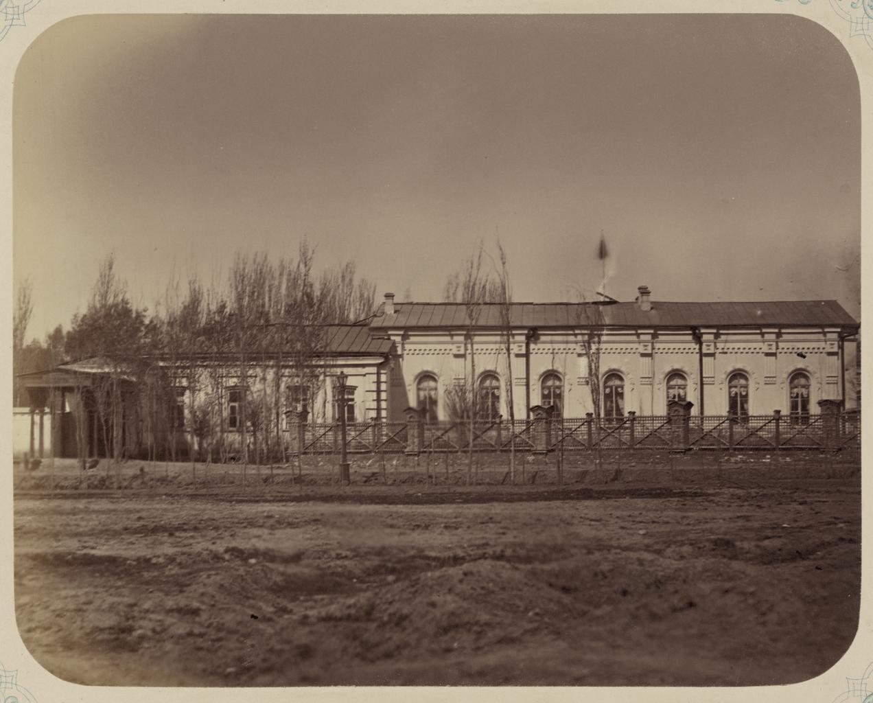 Дом генерал-губернатора. Фасад