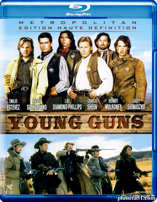 Молодые стрелки / Young Guns (1988/HDRip)