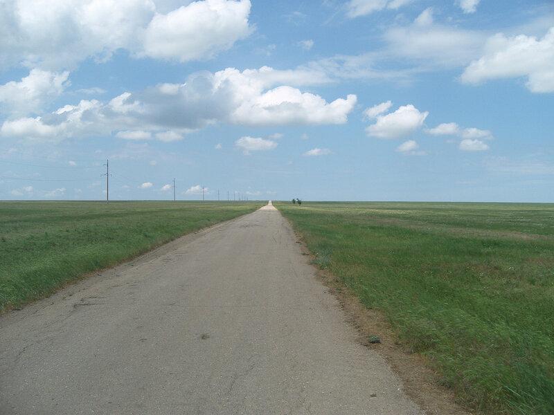 и снова асфальт (от полигона до шоссе М17)