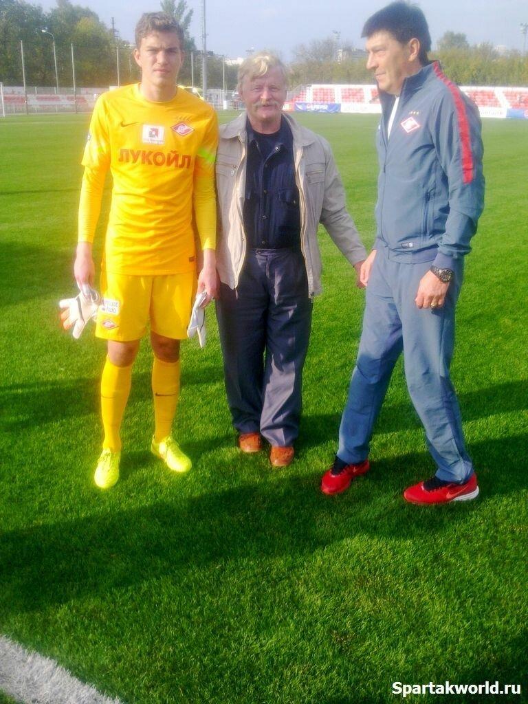 Антон Митрюшкин, Валерий Петрович и Ринат Дасаев
