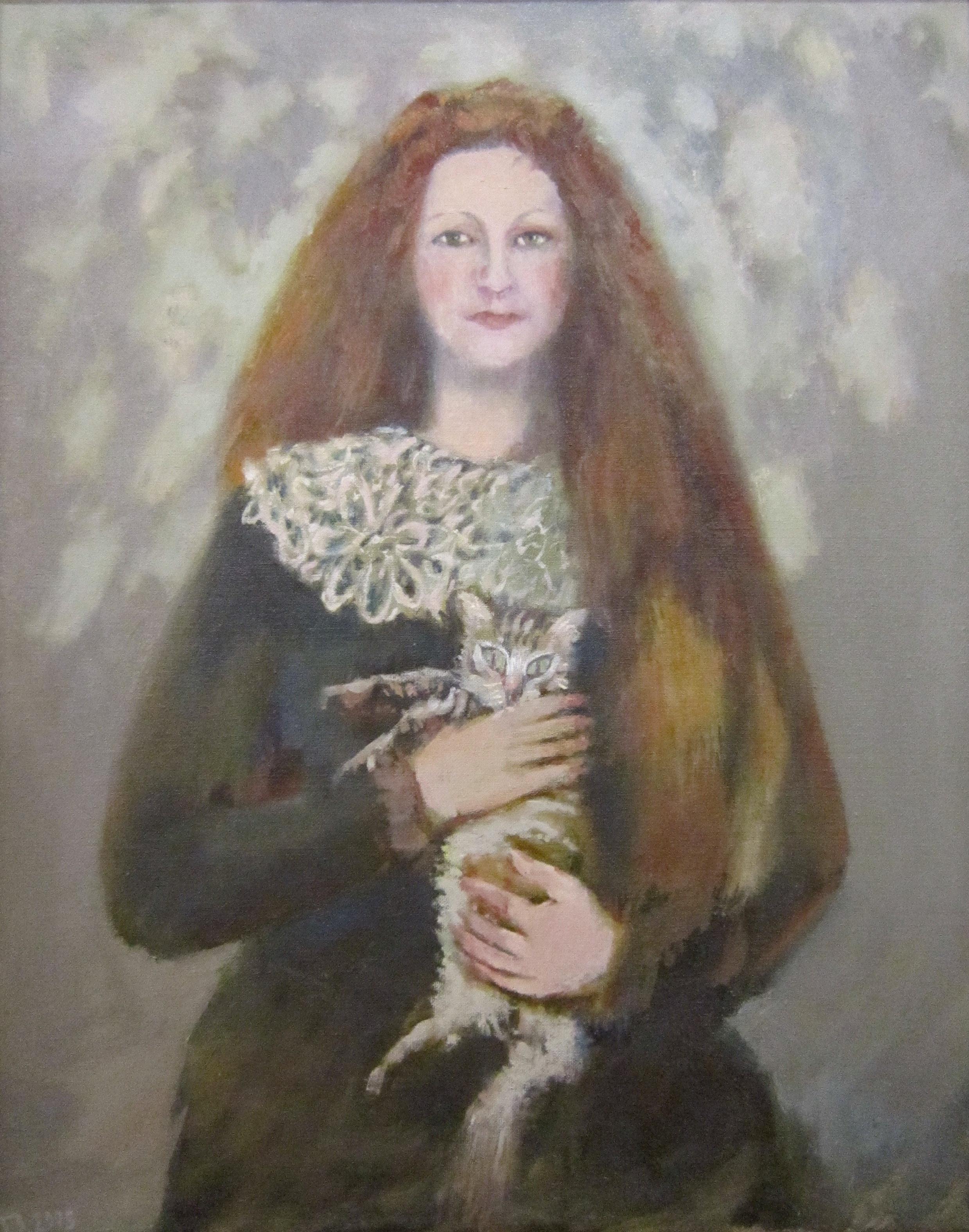 Запечнов Геннадий Семёнович (род. в 1944 году). Портрет Людмилы. 2005 год.