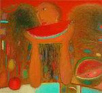 """Август"", х., м. 100x110 2008"
