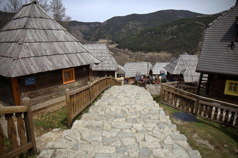 Мокра Гора, Сербия