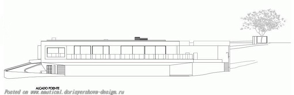 вилла в Португалии в стиле минимализм, дом у моря, дом у океана, архитектура индивидуального жилого дома, архитектура, архитектурный дизайн, португалия, Лагос