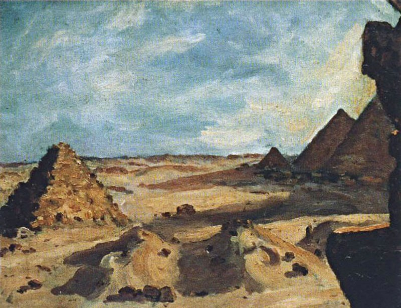 Near the Pyramids Возле пирамид.jpg