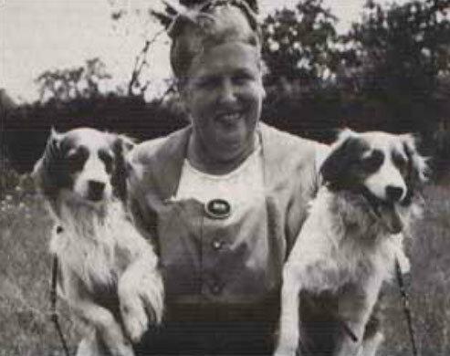 баронесса Хандерброекиз Аммерстол с собаками койкерхондье