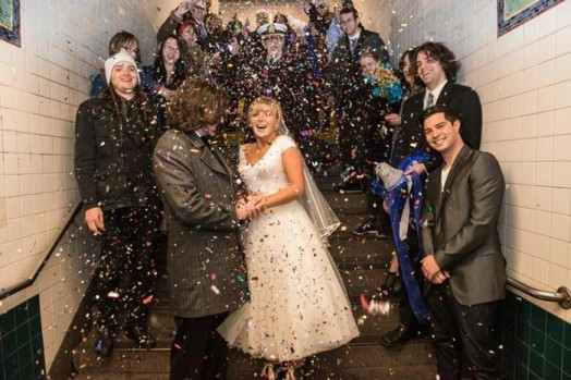 Свадьба в метро Нью Йорка 0 11e5fa a8966529 orig