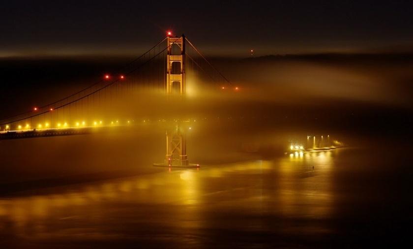 Красивые фотографии тумана в Сан Франциско, США 0 142272 26849a80 orig