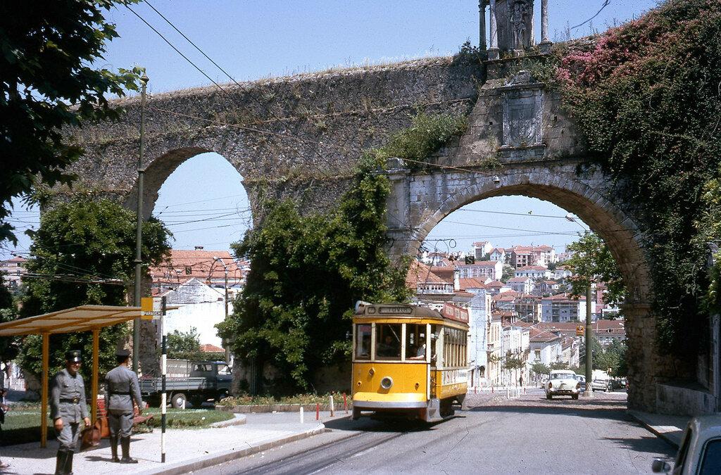 Trams de Coimbra (Portugal) 1970