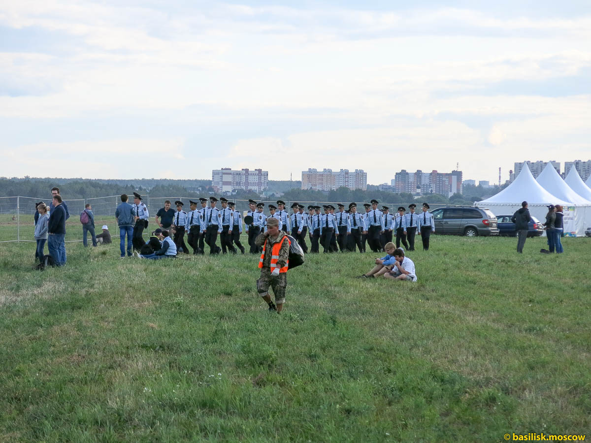 Московское небо. 2014.
