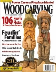 Журнал WoodCarving Illustrated №044 (Fall 2008)