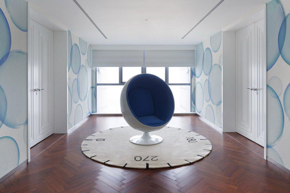 Dariel Studio, Beijing Fantasy, пентхаус в Пекине, пентхаус в Китае, двухэтажная квартира, самый большой пентхаус, самый бестолковый интерьер в мире