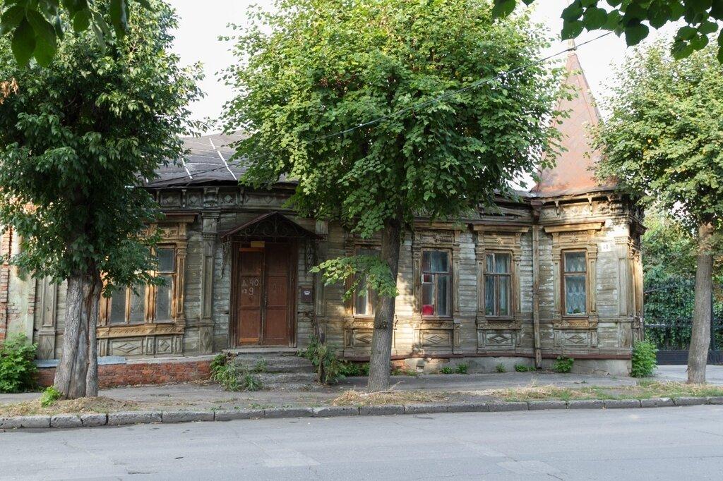 Старый дом по улице Салтыкова-Щедрина, Рязань