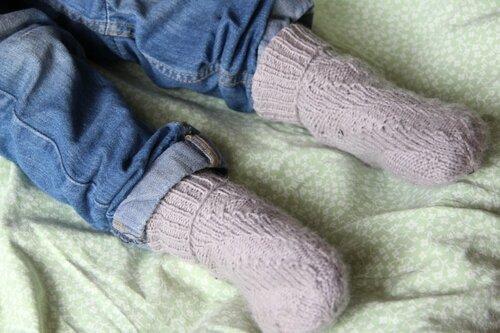 носки спиральные на ножках