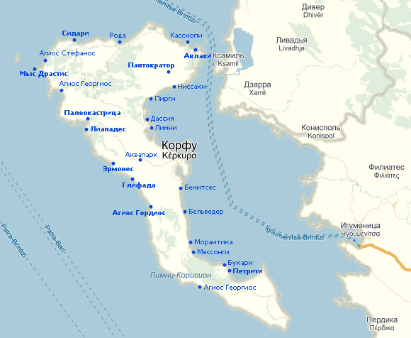 авторские трогательные греция корфу пляжи фото расположение на карте маникюр набирает обороты