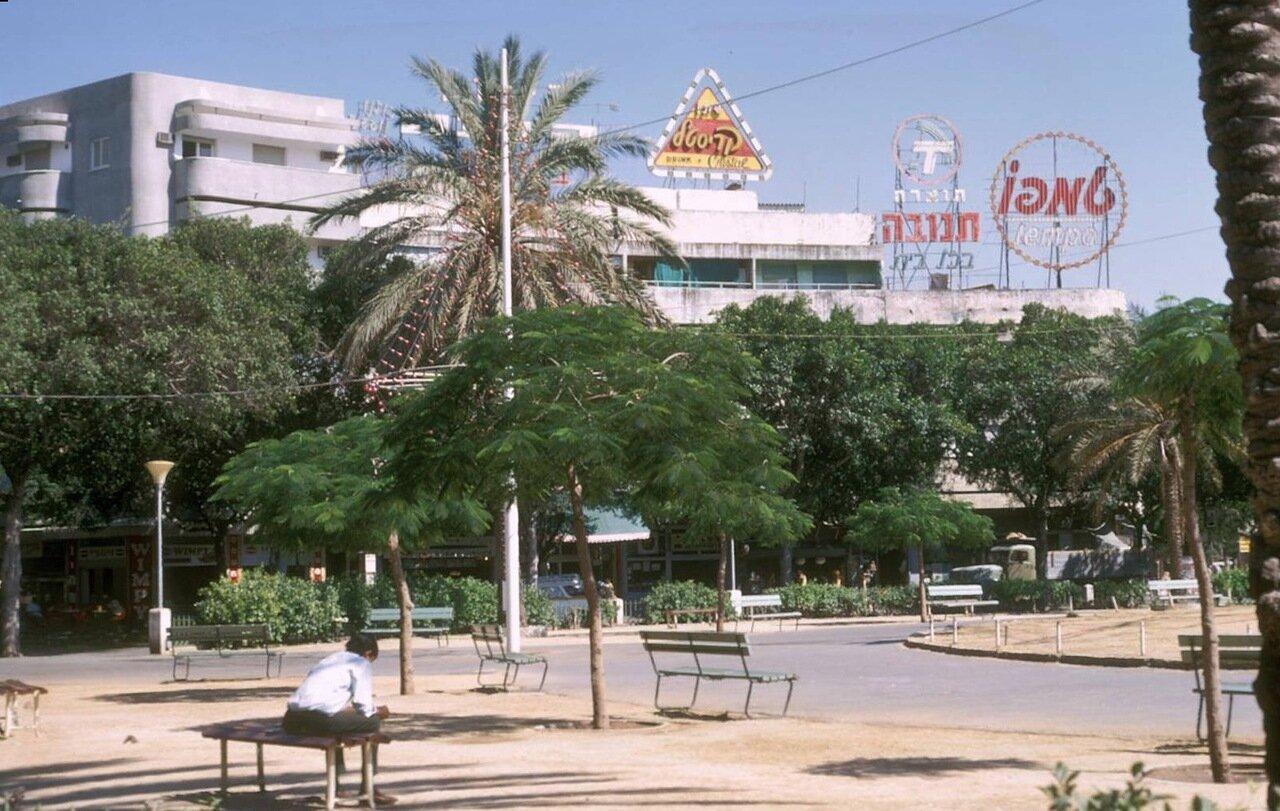 16. Площадь Дизенгоф
