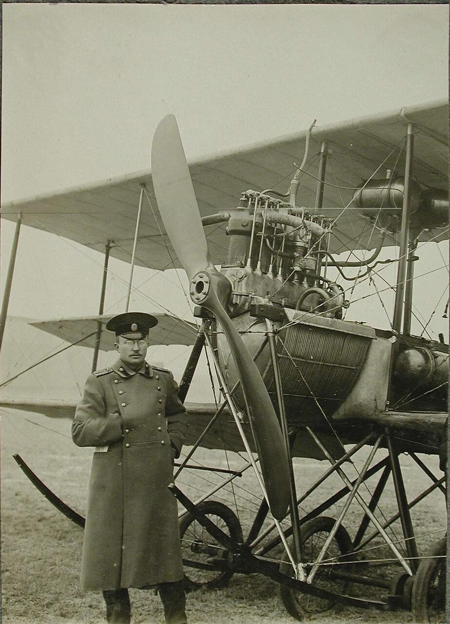 22. Вид мотора, установленного на биплане инженера Я.М. Гаккеля