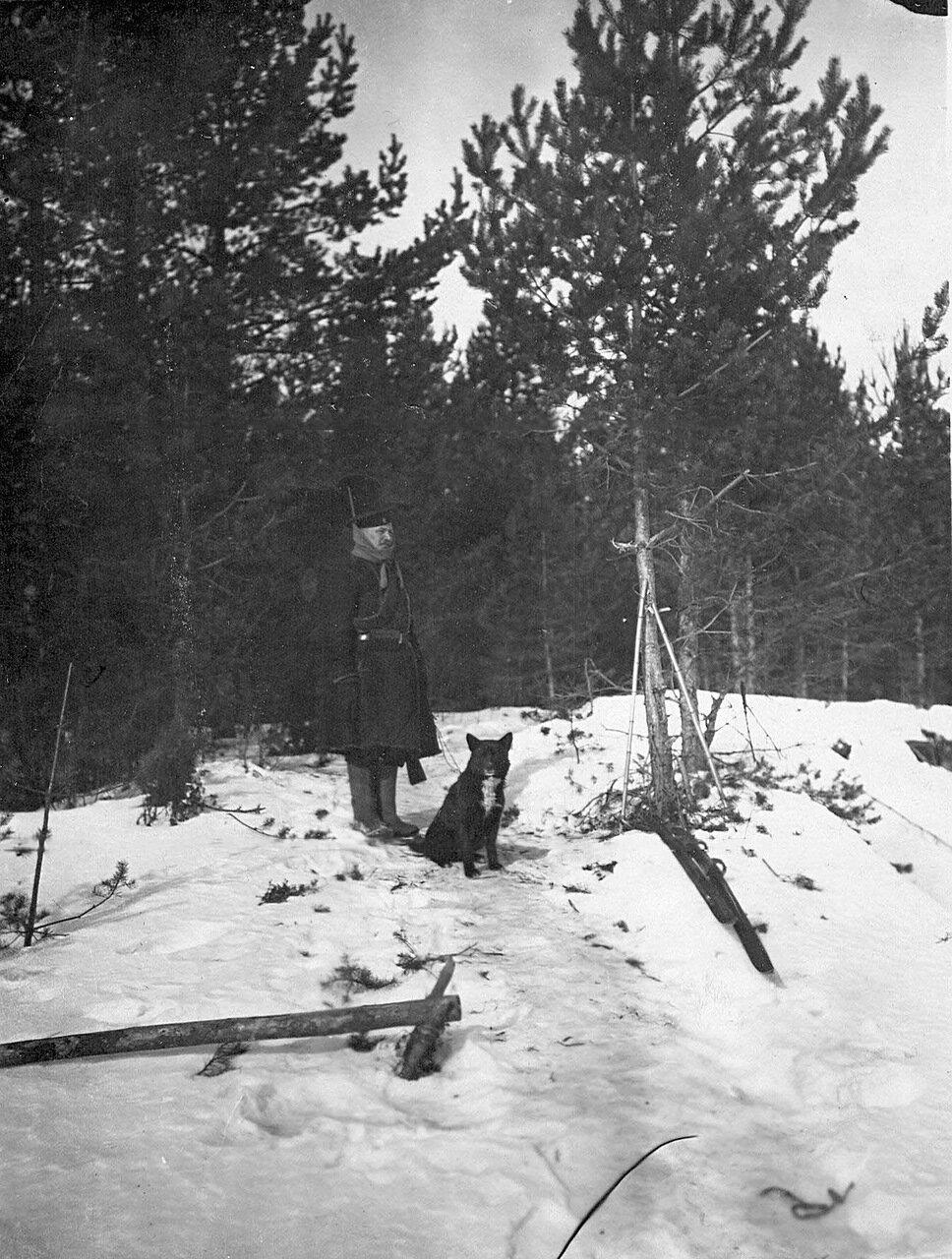 07. Пограничник с собакой. 1908