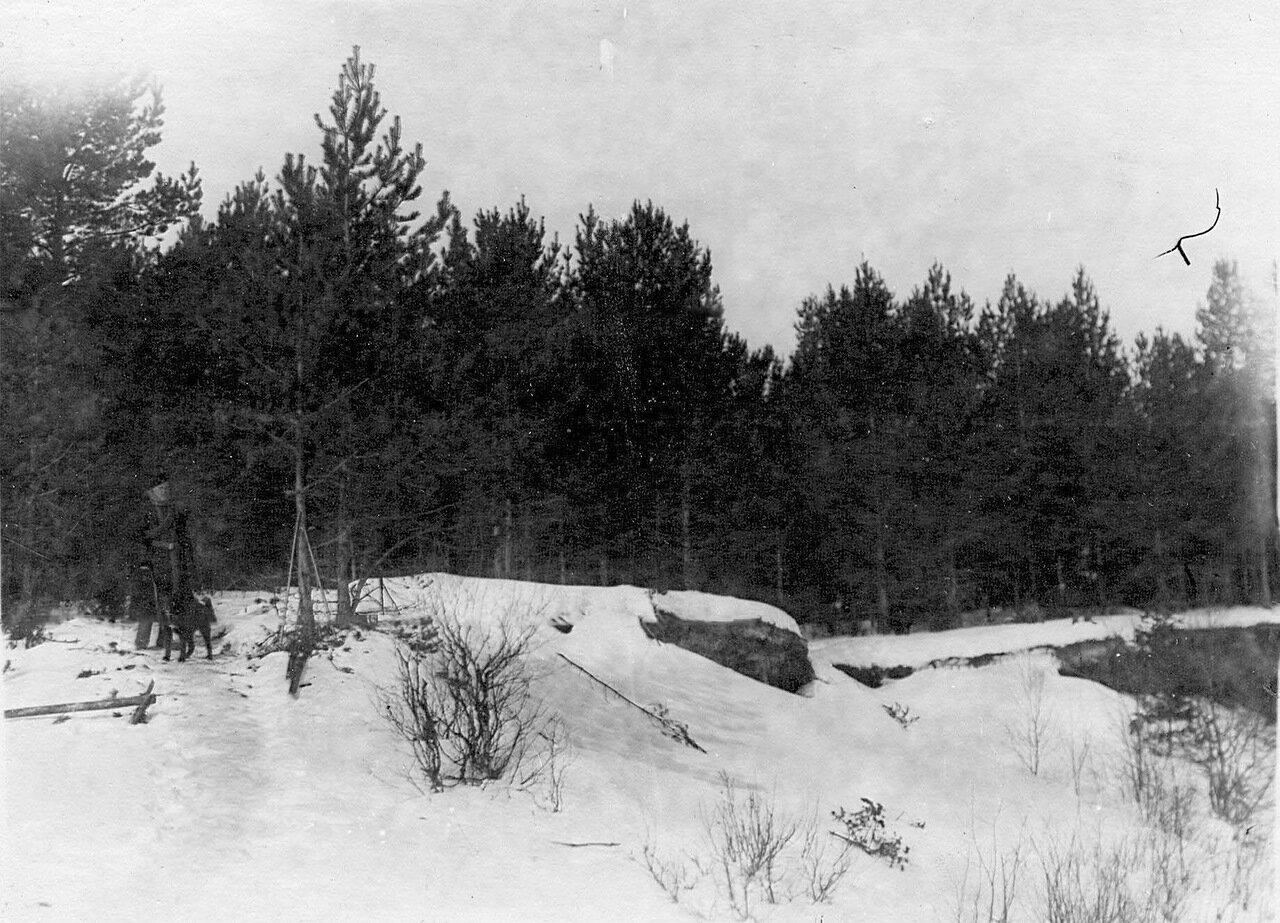 44. Пограничники на охране границы. 1908