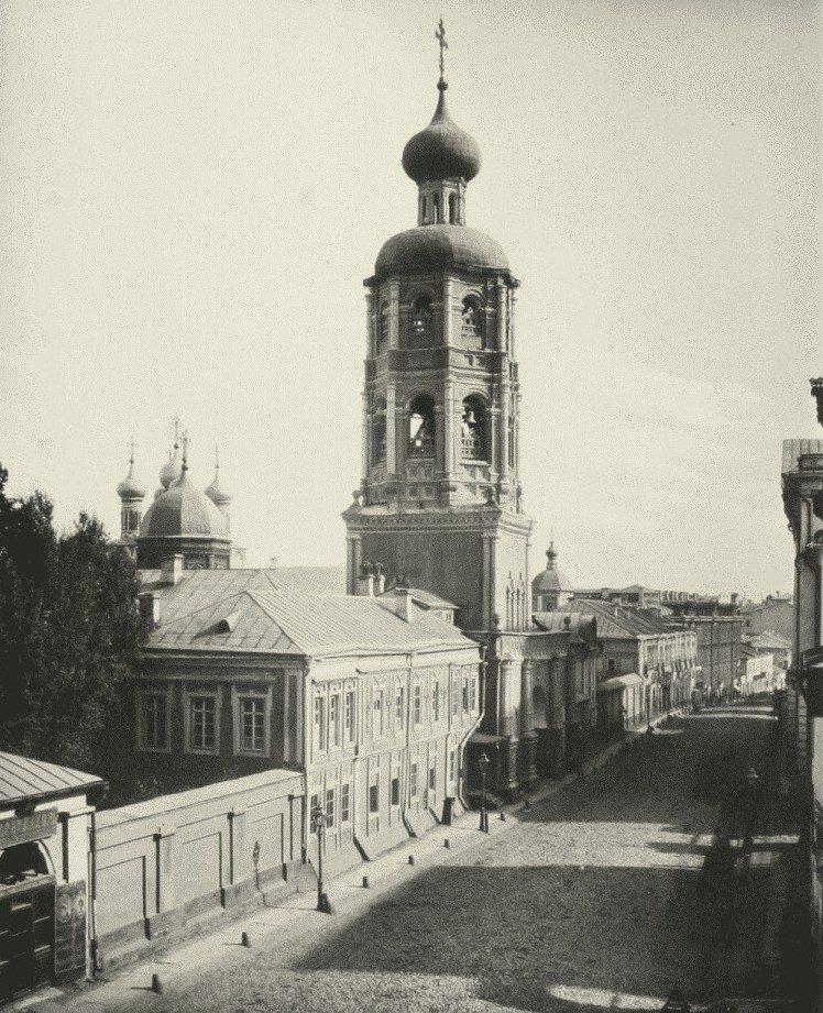 247. Петровка. Высокопетровский монастырь.1881