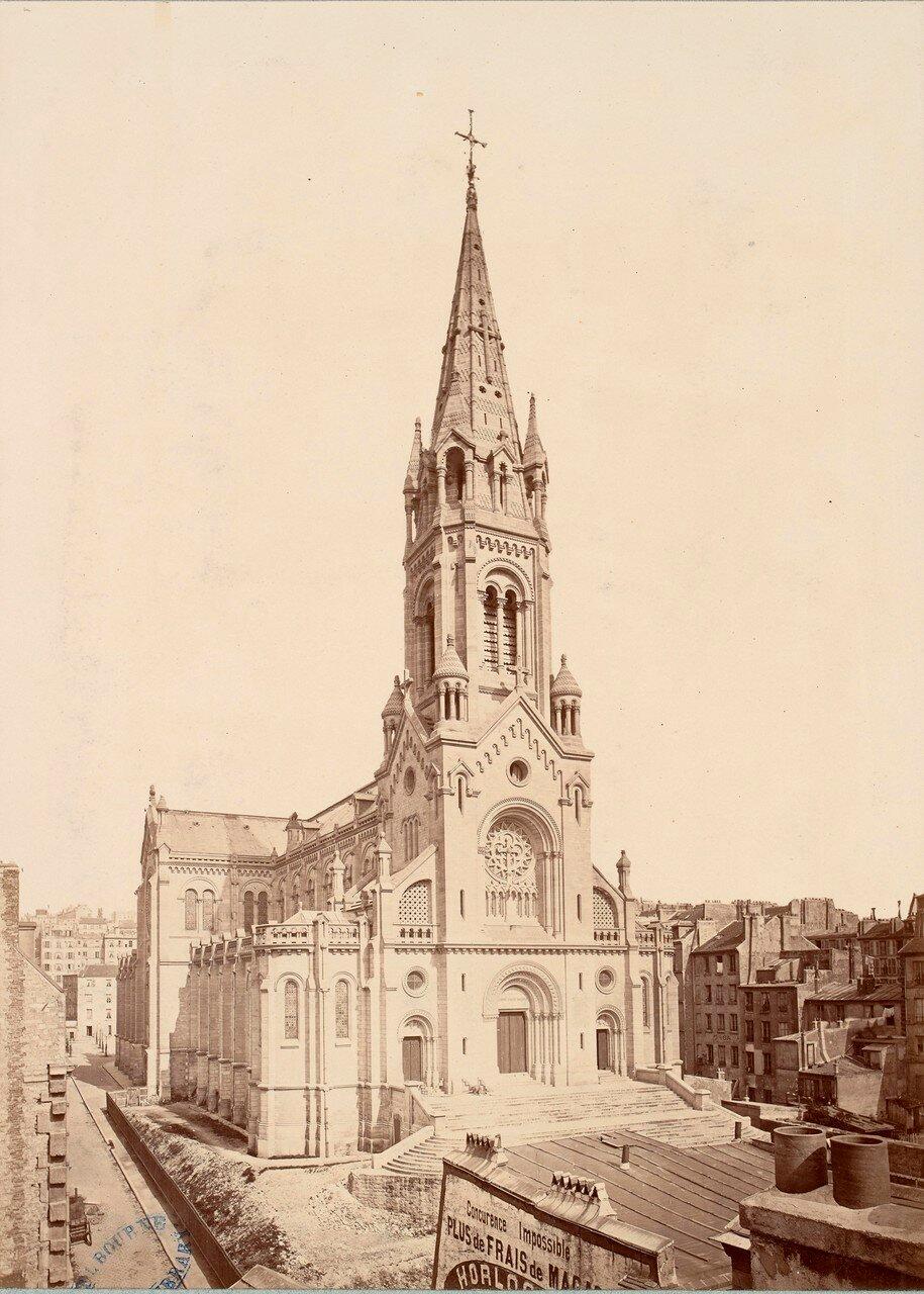 1877. Церковь Нотр-Дам-де-ла-Круа