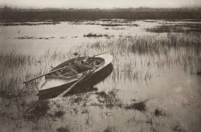 Жизнь и пейзажи в окрестностях Норфолка, Питер Генри Эмерсон. 13. Охота на дичь