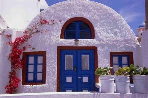 декор схода средиземноморский стиль