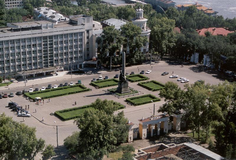 Khabarovsk - Komsomolskaya Square
