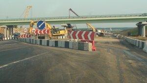 шоссе Новая Рига, сужение полос движения, пробка Новорижское шоссе